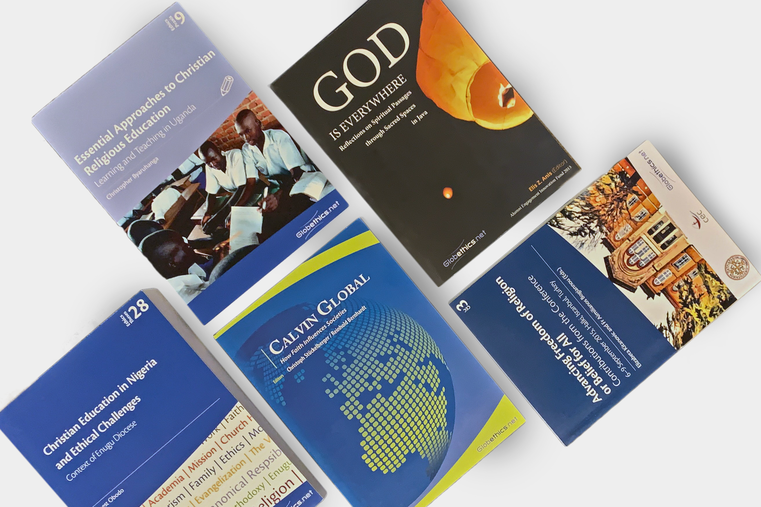Publications on theology and ecumenisim