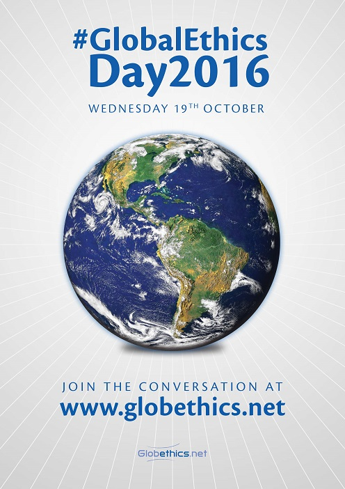 The Global Ethics Day 2016 poster