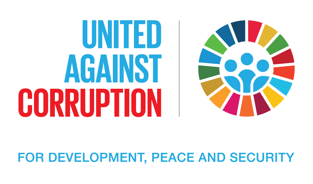 #UnitedAgainstCorruption logo