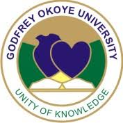 Godfrey Okoye University logo