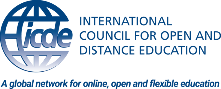 International Council for Open and Distance Education, ICDE logo