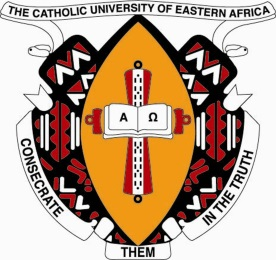 The Catholic University of Eastern Africa, CUEA logo