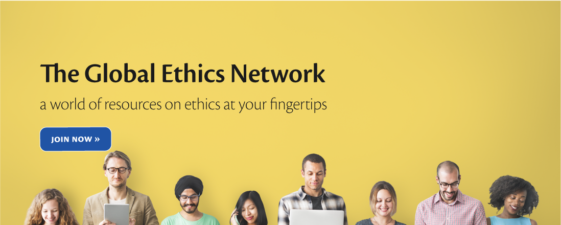 group of people with devices. The Global Ethics Network a world of resources on ethics on your fingertips