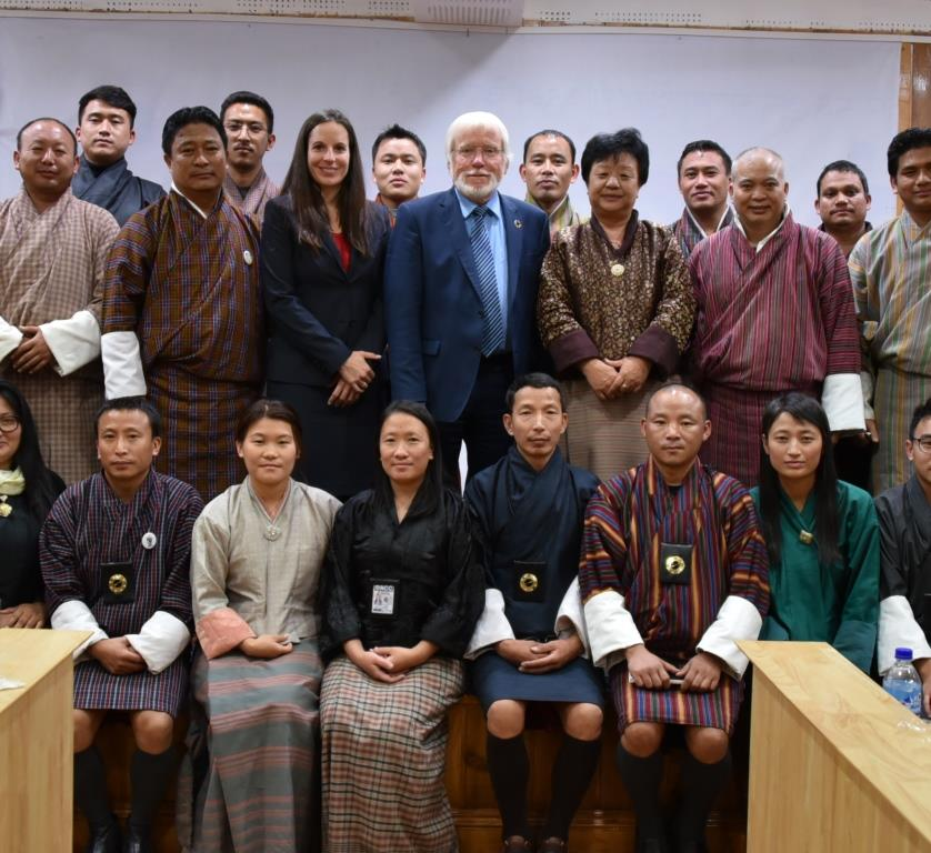 group photo Ethics in Higher Education and anti-corruption in Bhutan