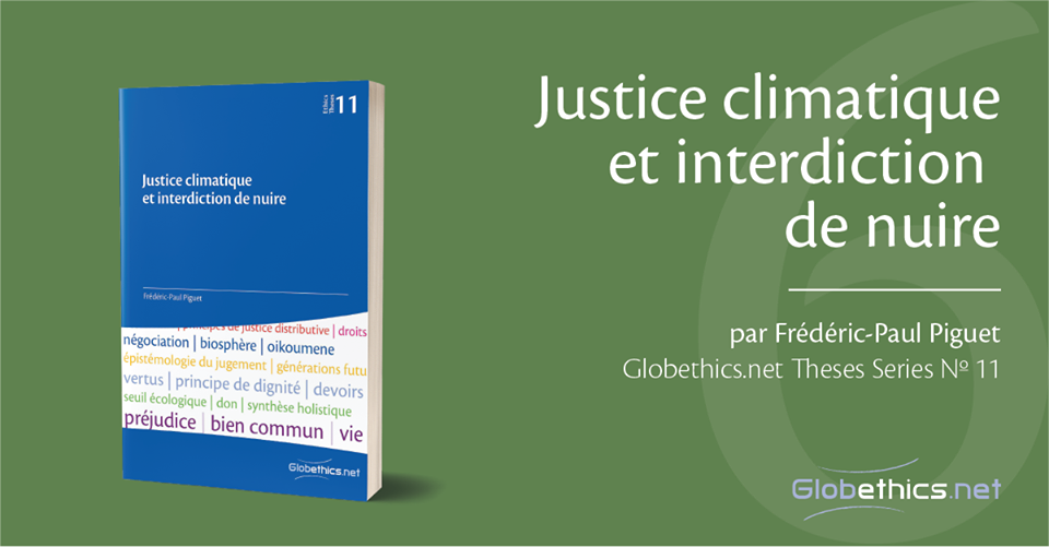 Justice climatique et interdiction de nuire