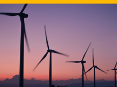 Wind mills - Corporate Social Responsibility and Sustainable development