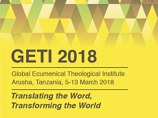 Global Ecumenical Theological Institute 2018