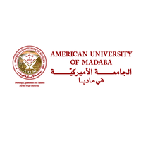 American university of madaba logo