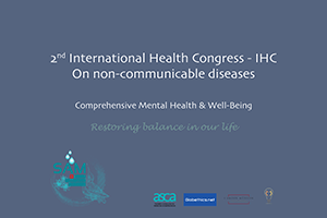 Internationaé Health Congress on non-communicable diseases