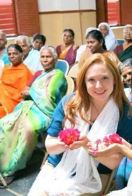 Nicole Armstrong - USA - Nicki and I met during an internship where we learned about human rights, inequalities and Dalits among many other things. She is a very creative and passionate young woman with a deep desire to work for social justice. Together we dreamed about India and today I am very proud of her that after 7 years she is starting a sewing cooperative for widows in Coimbatore, India. The main goals are to provide economic opportunity and empowerment to this particularly vulnerable group of women and to support them as they work toward changing the perceptions of widows in Indian society. Moreover they work to make this an environmentally responsible project by using organic cotton and natural dyes.