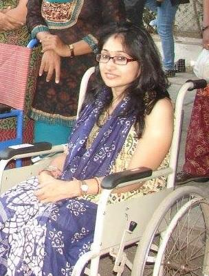 Nishtha Anand - India - Nishtha was struck with muscular dystrophy and tuberculosis at a young age, which left her completely dependent on a wheelchair. Despite this impediment, Nishtha went on to finish her undergraduate and graduate studies in Human Resource Management, and also completed a Master's in Business Administration. Nishtha has taken an active interest in the field of rehabilitation and the empowering of people afflicted by muscular dystrophy. She has worked with a number of organizations like the Ellisbridge Gymkhana, SEWA, and Udgam School, and is currently working with the Indian Institute of Management, Ahmedabad as a Clerical Assistant. In 2008, she coordinated the 19th Medical Awareness Camp of the Indian Association of Muscular Dystrophy (IAMD) in Ahmedabad. Since then, she has conducted camps and picnics in nine districts in Gujarat, and donated 14 wheelchairs which empowered the people living with Muscular Dystrophy. She is now the Chapter Head (Gujarat) for the IAMD. Nishtha travels all over the country and motivates many people suffering from muscular dystrophy.