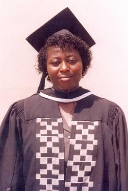 "Sylvia Owusu-Abnsah - Ghana - Sylvia Owusu-Ansah has been championing gender equality by lecturing in the school of theology of Central University College, Accra, Ghana. She teaches Gender Studies at Level 400, the graduating class of the University every year and there have been scores of testimonies from mostly the male students about how the course has transformed their lives. One of such instances is a young man who was preparing to get married who came to thank her after taken the course and expressed how he would have maltreated his would be wife if he had not had the opportunity of taken the course. Secondly she belongs to the Circle of Concerned African Women Theologians and is currently the Anglophone West African Coordinator. She researches and writes on topics like ""Girl Child Trafficking in Ghana"", ""Women's Role in Building Sustainable Peaceful Communities"". Her M.Phil Dissertation was on ""The Voice of The African Women: A Theological Reflection of the Emerging Feminism in Africa."" She is seeking publishers to publish the dissertation as a book."